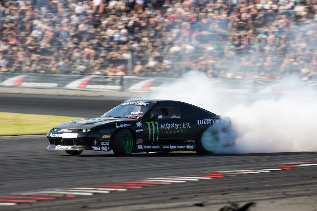 SA drift champ Jason Webb represents at Gatebil international drift show