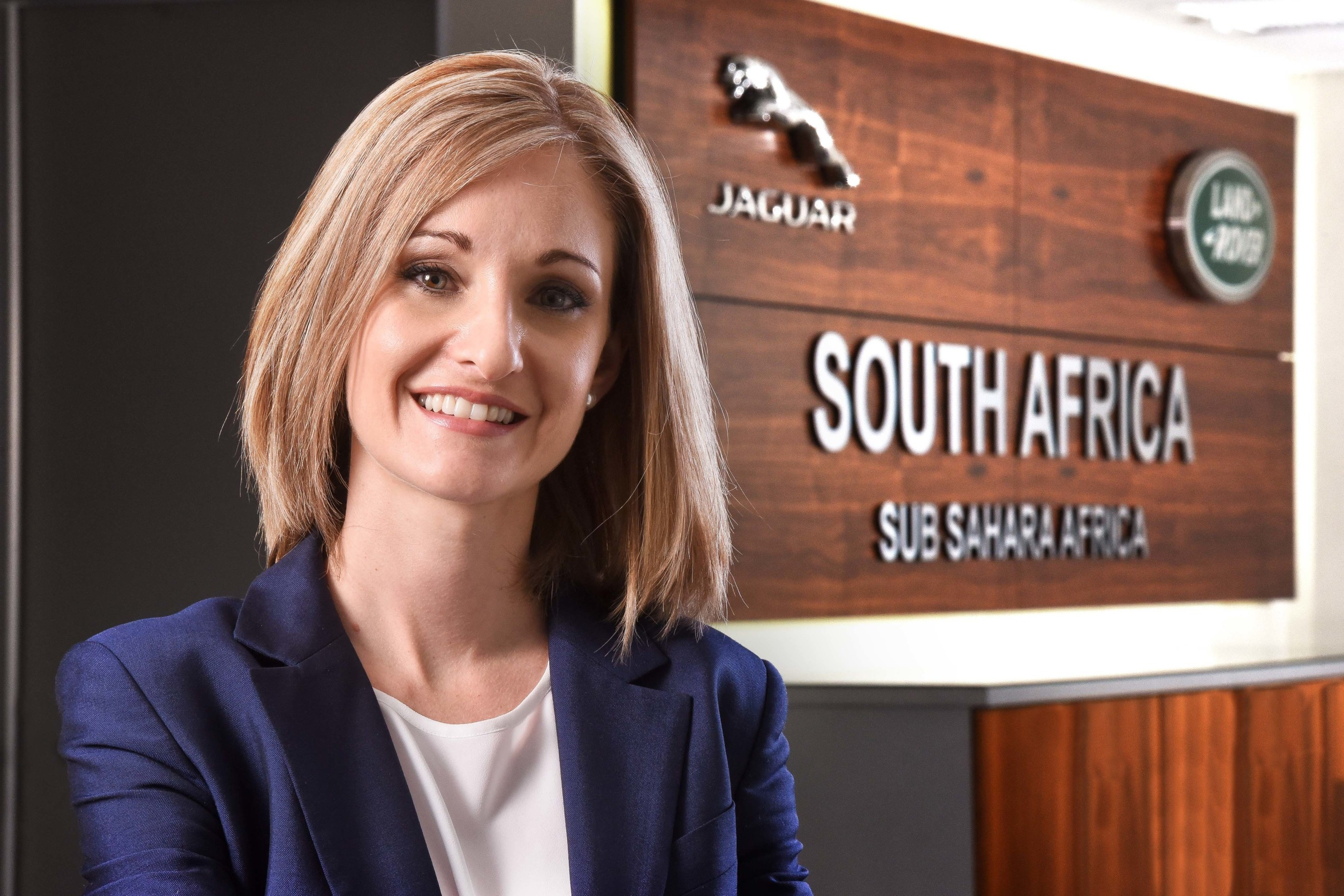 Lisa Mallet of Jaguar Land Rover SA recognised for top award