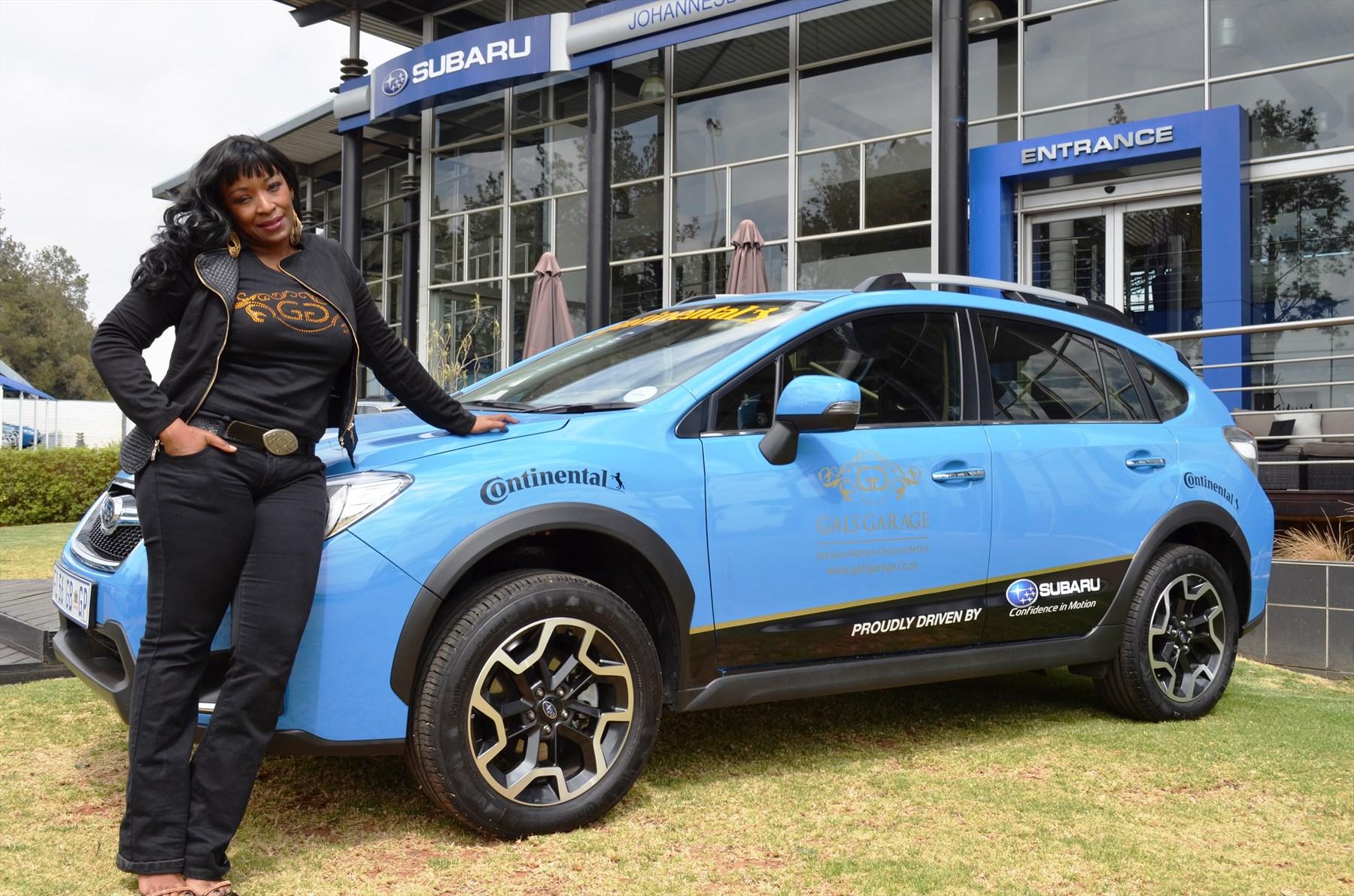 Vuyi Mpofu Subaru Brand Safety Ambassador