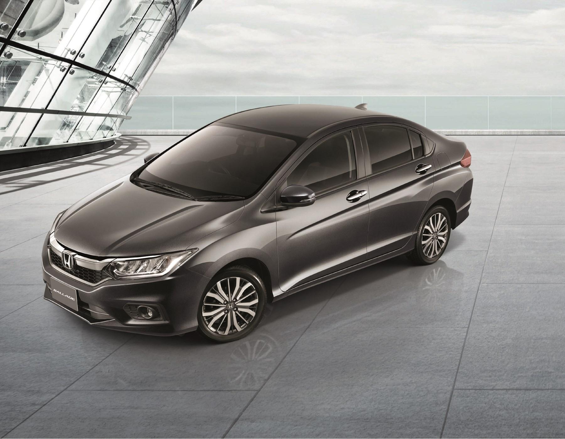 Honda Ballade receives an update