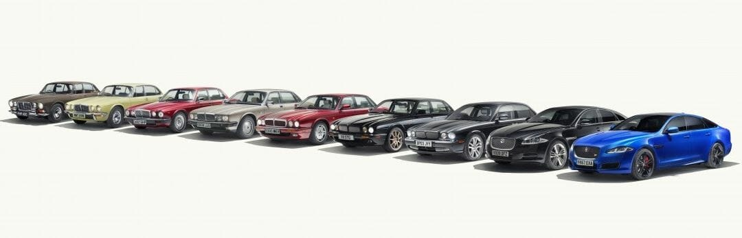 Jaguar celebrates 50 Years of the flagship XJ