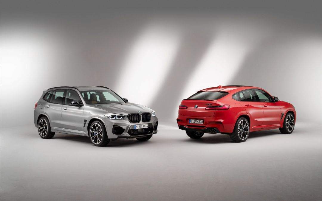 BMW Launches X3 M and X4 M Competition models