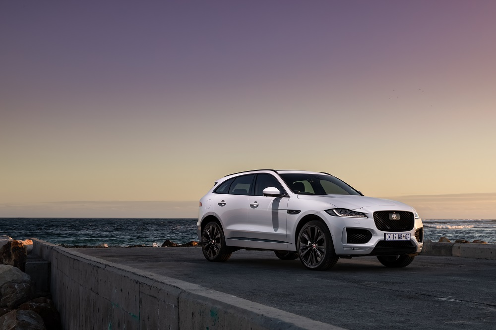 Jaguar F-Pace gets the Chequered Flag