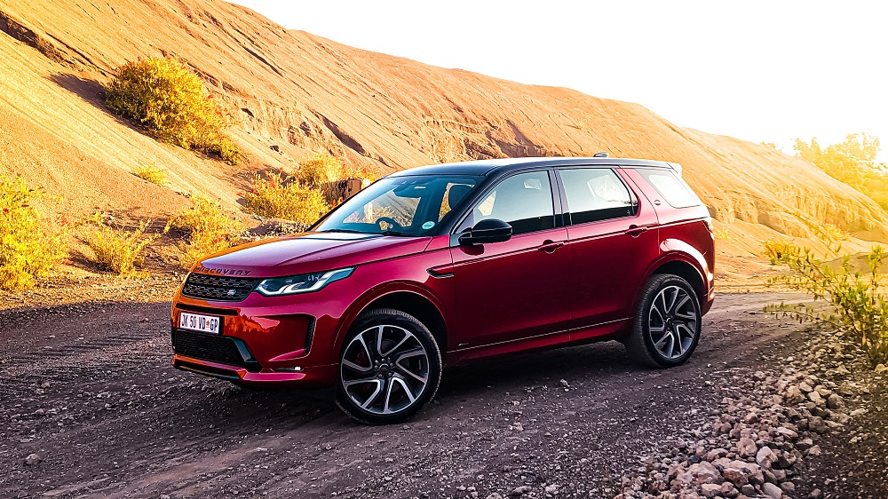 New Discovery Sport Driven