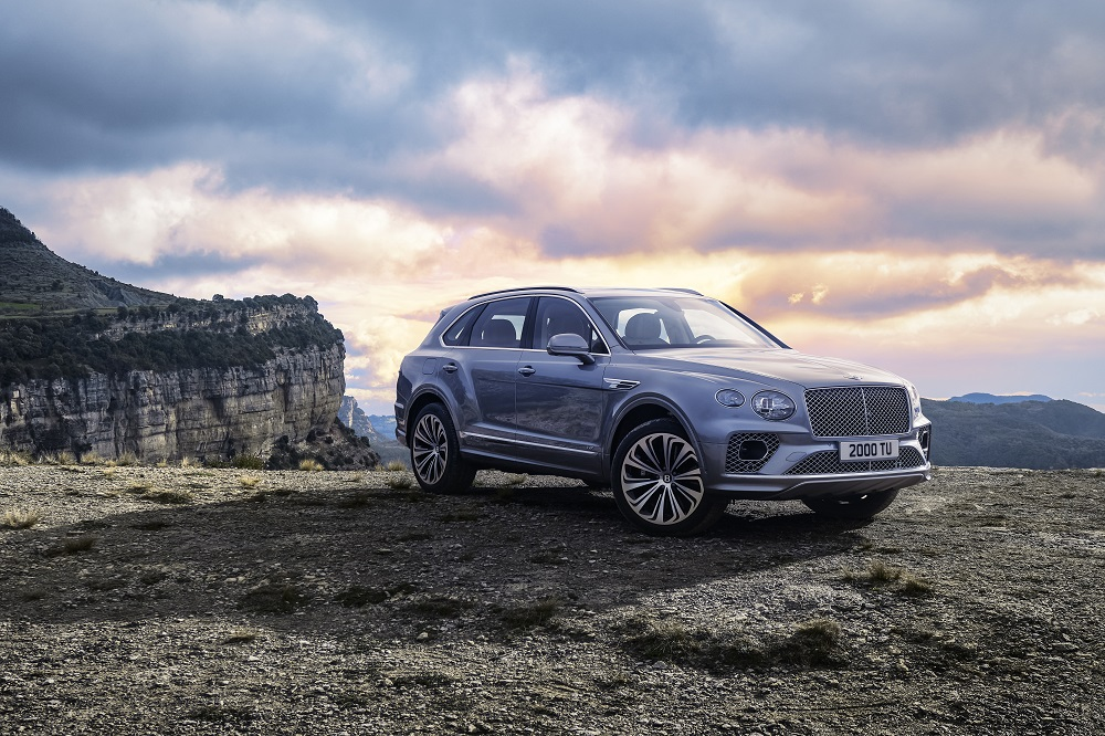 Bentley updates the Bentayga