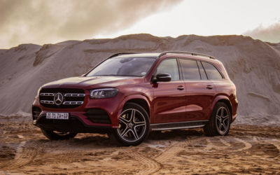 Mercedes-Benz GLS580 is a road going mega yacht