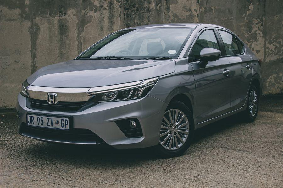New Honda Ballade driven
