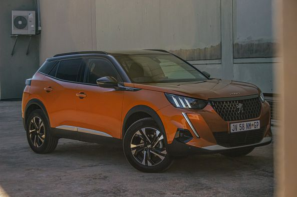 Driving the new Peugeot 2008