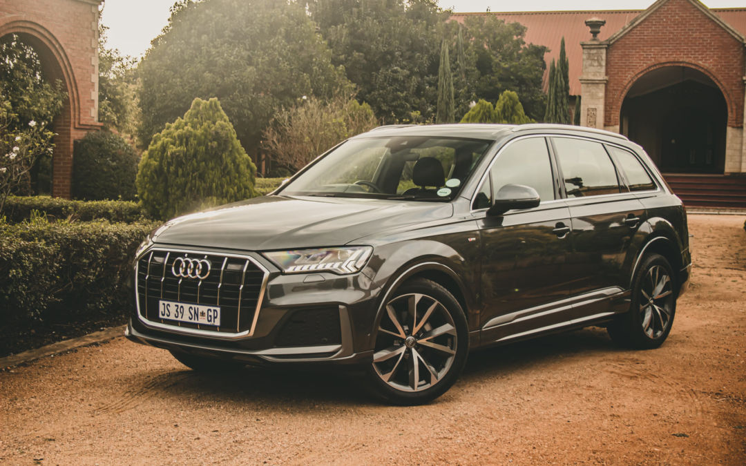 Updated Audi Q7 driven